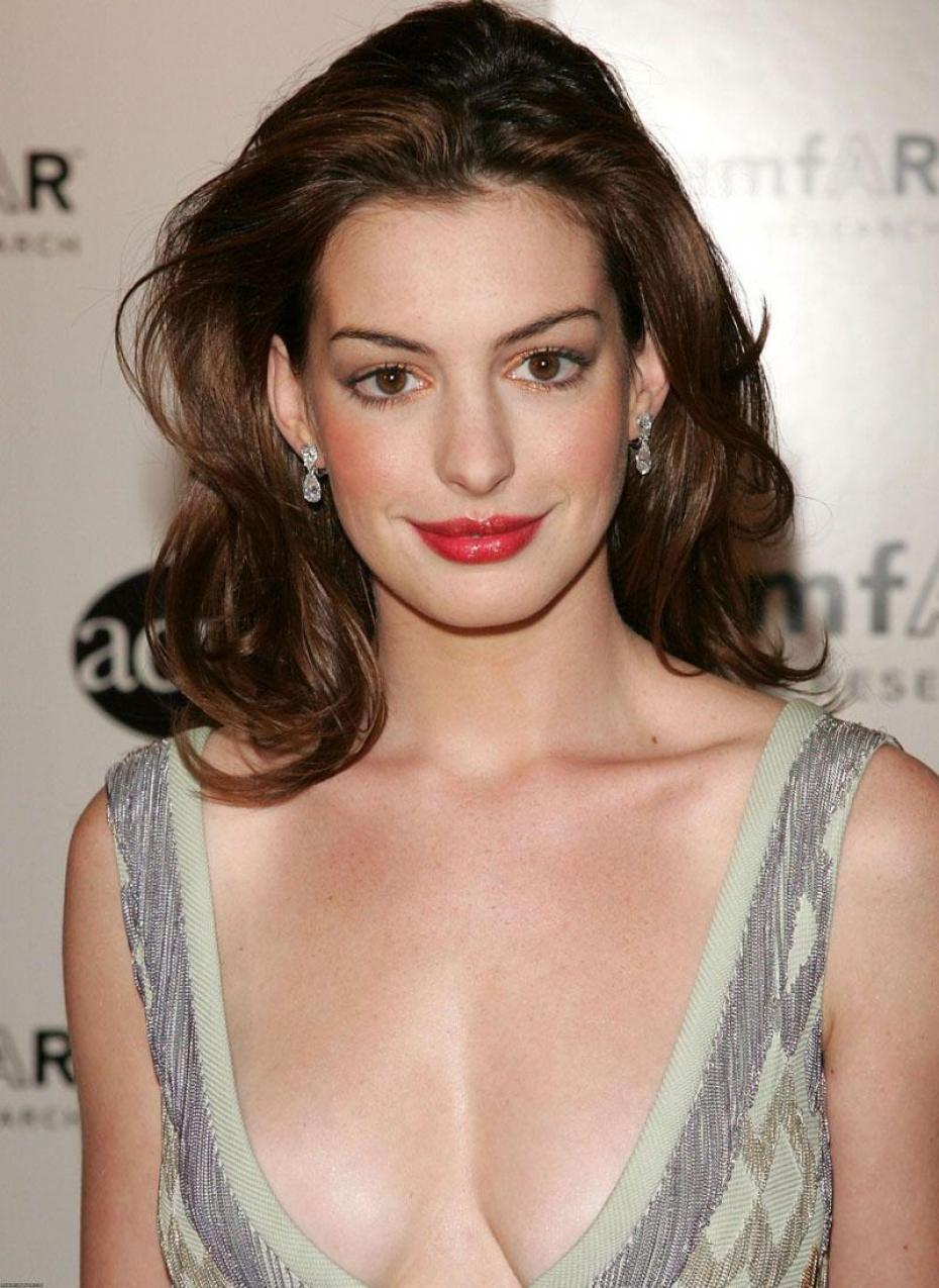 Anne Hathaway Breast