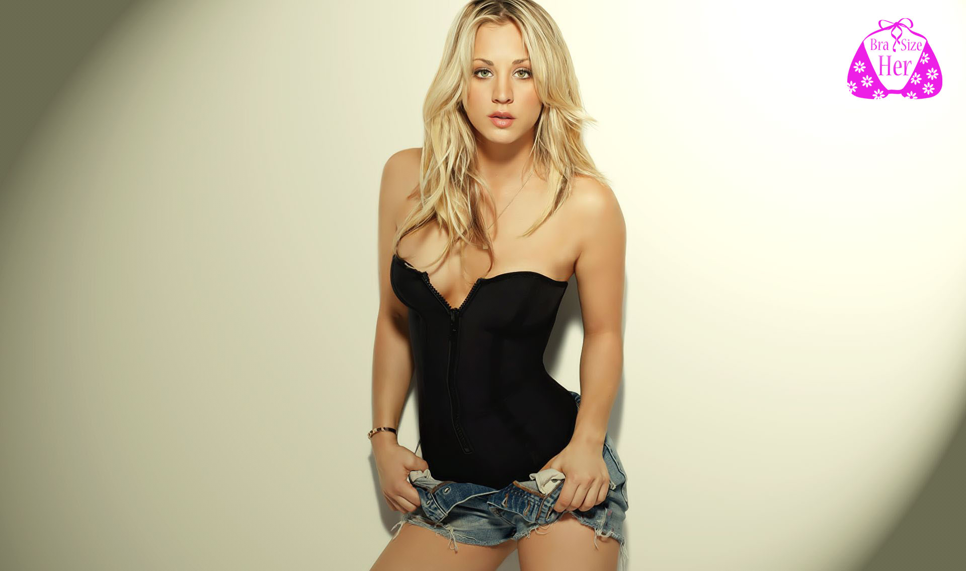 kaley cuoco bra size pics and info at herbrasize