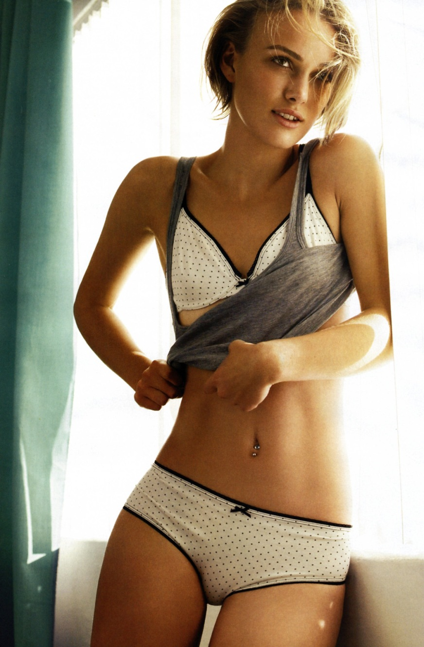 Keira Knightley cup size