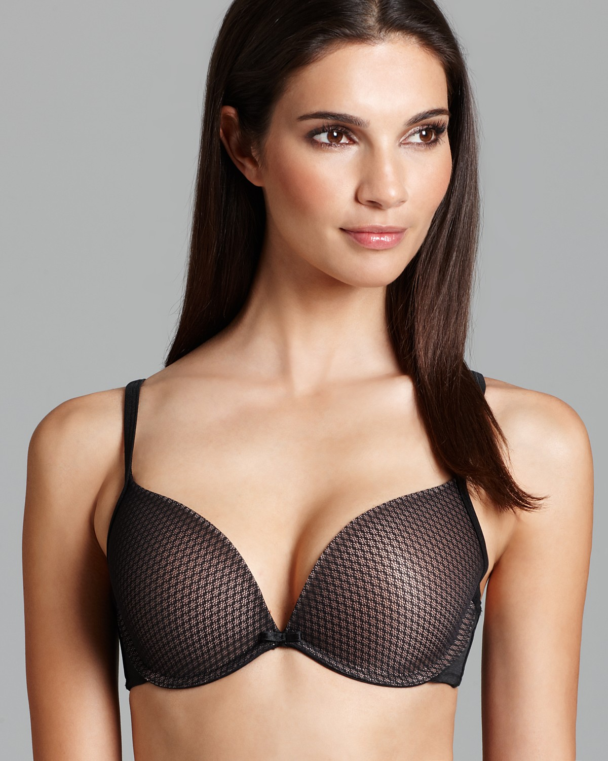 Under Bust Measured around the body, underneath the bust in the ribcage area. Fullest Point / Cup Size Measured with a non-padded bra around the body, over the fullest part of the bust.